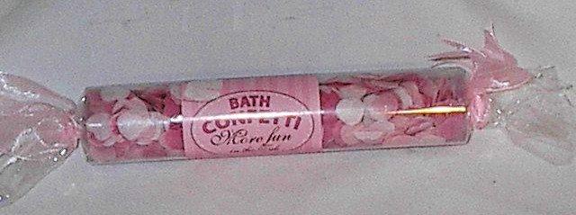 Spa Sister Bath Heart Shaped Confetti More Fun in the Tub