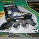 On Sale - Sprint Variflex Adjustable Inline Youth Roller Blades Skates Size 1 - 4