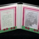 Blue Mountain Arts Poetry Message Photo Frame 'A Grandmother's Love'