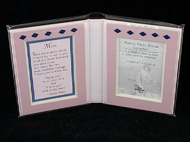 Blue Mountain Arts Poetry Message Photo Frame 'Mom'