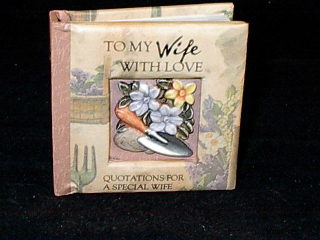 History and Heraldry Miniature Gift Book 'To My Wife With Love'