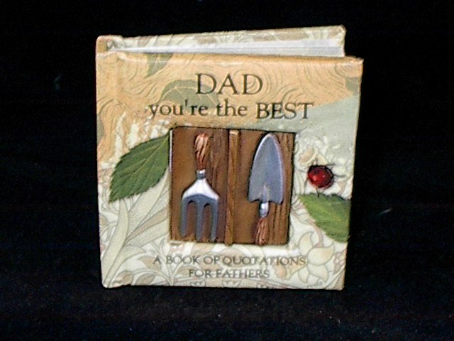 History and Heraldry Miniature Gift Book 'Dad You're the Best'