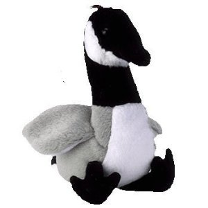 TY Jingle Beanies Baby - LOOSY the Goose Plush Ornament