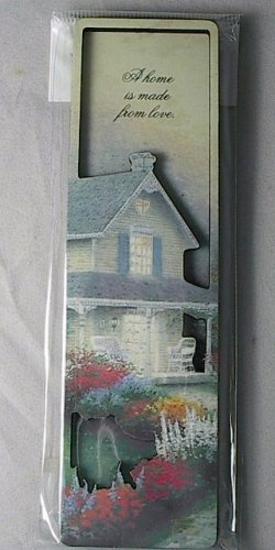 "Inspirational Magnet ""A Home is Made from Love"""
