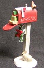 Hallmark Keepsake Ornament 2006 Holdiay Mail VIP Colorway Red Mailbox