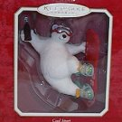 Hallmark Keepsake Ornament 2001 Cool Sport Snowboarding Coca-Cola Bear