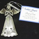 Ganz Faithful Angels 'Angel of Faith' Pewter Ornament
