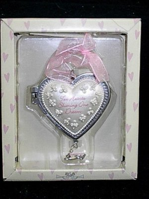 Ganz Wedding Anniversary 2 Hearts 1 Dream Heart Locket Keepsake