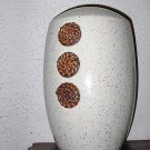 Desert Sand Beige and Browns 13 inch Earthenware Vase