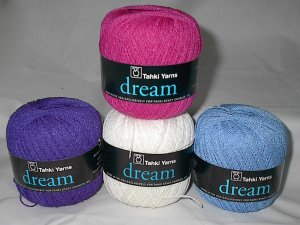 50% Discount on Tahki Dream Wool Blend Yarn Hot Pink #012