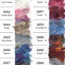 Wendy Shimmer Eyelash Yarn 2042 Cool Cream