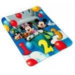 """Disney Mickey & Friends 40"""" x 50"""" 3D Fleece Blanket"""