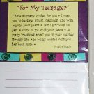 "Blue Mountain Arts Inspriational Magnetic List Note Pad ""To My Teenager"""