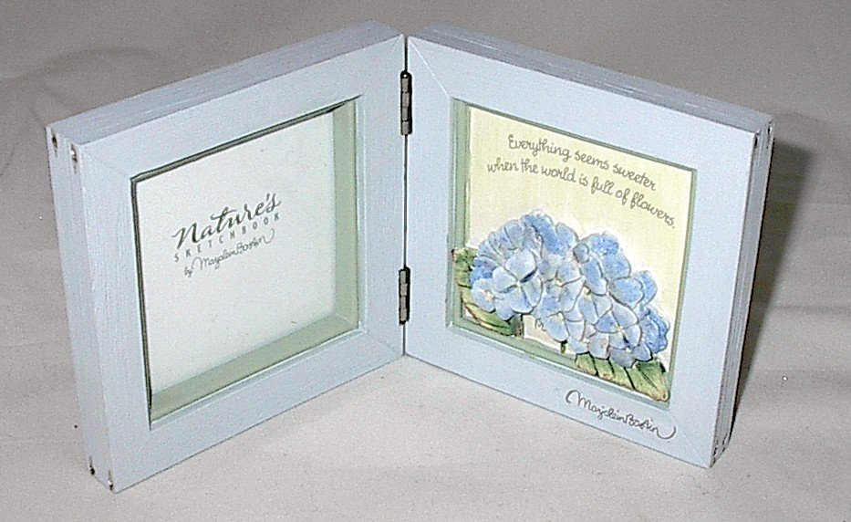 "Hallmark Marjolein Bastin Nature's Sketchbook ""Everything Seems Sweeter..."" Photo Plaque"