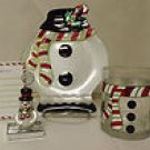 Letter to Santa Snowman 8 Piece Serving Set