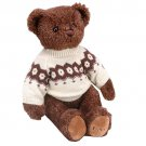 FAO Schwarz 11-inch Sweater Bear - Dark Brown