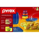 Pyrex 12 piece Glass Bake Store Food Storage Set w/ Lids
