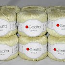 Gedifra Ayala Italian Yarn #2208 Pale Yellow Citron