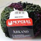 Mondial Arkano Trendsetter 854 Black, Plum, Teal, Olive Yarn Free Shipping Offer