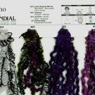 Mondial Arkano Trendsetter 857 Black, Purple Yarn Free Shipping Offer