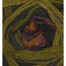 Ella Rae Classic Sand Art #1606 Olive, Mauve, Gold Wool Yarn