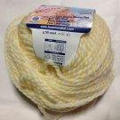 Mondial Ninna Nanna Baby Pure Merino Wool #285 Pastel Yellow White Yarn