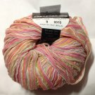 Filatura Di Crosa Malva Italian Cotton Blend Yarn #9 White Green Pink