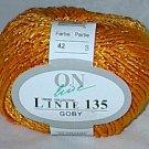 Online Yarns Linie 135 Goby #42 Cotton Blend Orange