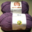 Lion Brand Vanna's Choice Yarn 146 Dusty Purple
