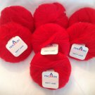 Pingouin Soft Hair Mohair Yarn 0013 Red