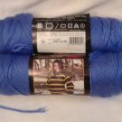 Caron Simply Soft Brites Yarn 3 oz Berry Blue 2609