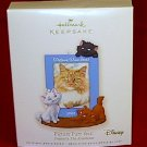 Hallmark Keepsake Ornament 2007 Picture Purr-fect Disney's the Aristocats Photo Holder Magnet