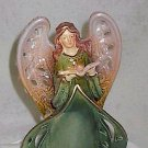 Exquisite Collectible Porcelain Angel 9 inches Tall by Burton & Burton