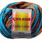 Celebi Lule Lule Yarn Color Beaches Brown Blue