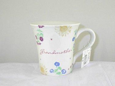 Russ Berrie Dear to My Heart Grandmother Ceramic 12 oz Tea Coffee Mug