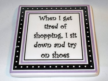 Mother's Day Funny Women's Humor Novelty Gift Magnet Shoes