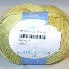 Schulana Merino Cotton 90 Yarn Yellow 05