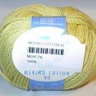 Schulana Merino Cotton 90 Yarn Yellow 05