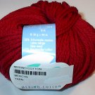 Schulana Merino Cotton 90 Yarn Crimson Red 21