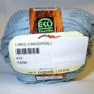 Fibra Natura Links 100% Organic Cotton Yarn 41204 Blue
