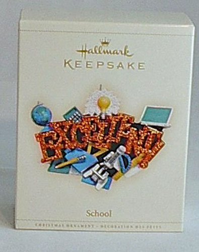 Collector's Hallmark Keepsake Ornament 2006 Excellent School You Rule MIB