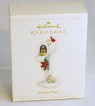 Hallmark Keepsake Ornament 2006 Holdiay Mail White Mailbox