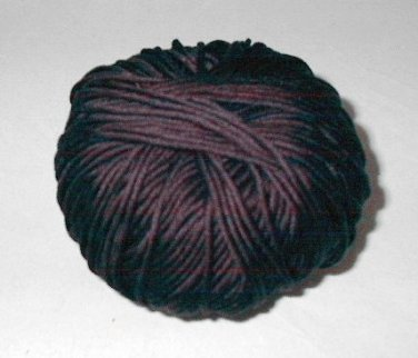 Laines du Nord Cleo Egyptian Cotton Yarn 100g Black No Band