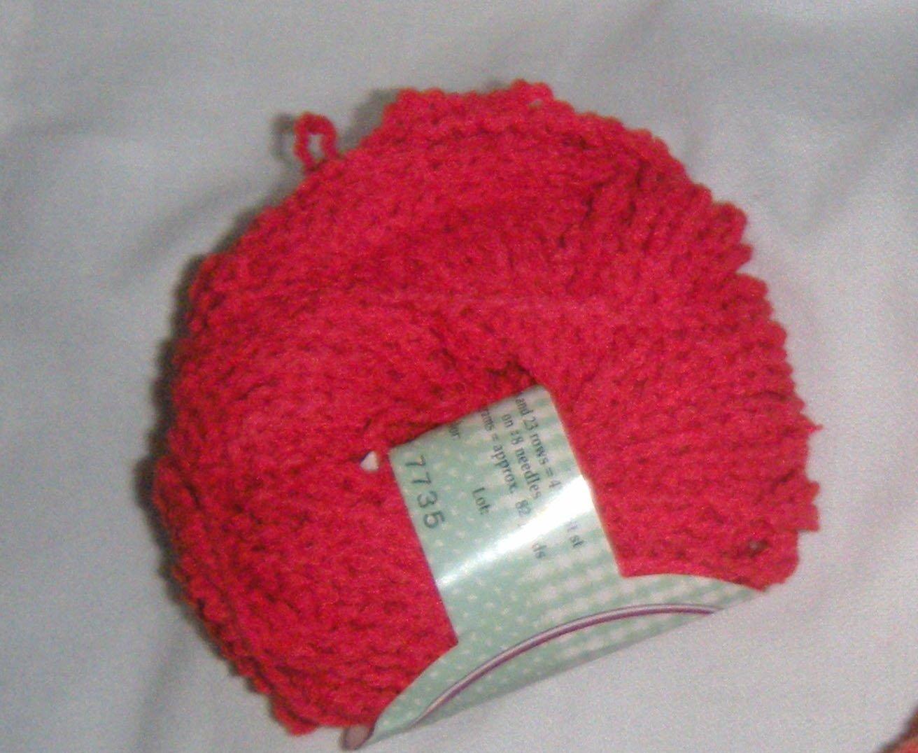 Reynolds Blossom Red #1449 Cotton Blend Yarn