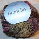 Plymouth Yarn Brunello Black Wool Blend Super Bulky Yarn Purple Moss 3000 Loom Knit Crochet