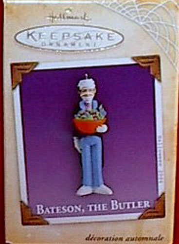 Hallmark Halloween 2004 Collectible Ornament Bateson the Butler Mummy