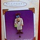 Hallmark Halloween 2004 Collectible Ornament Hugo the Handyman Frankenstein