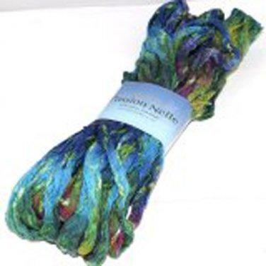Plymouth Ruffle Lace Cotton Blend Yarn Passion Nette 100g Jungle 007