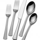 Mikasa Gourmet Basics Contempo 50 Piece Stainless Steel Flatware Set Service for 8