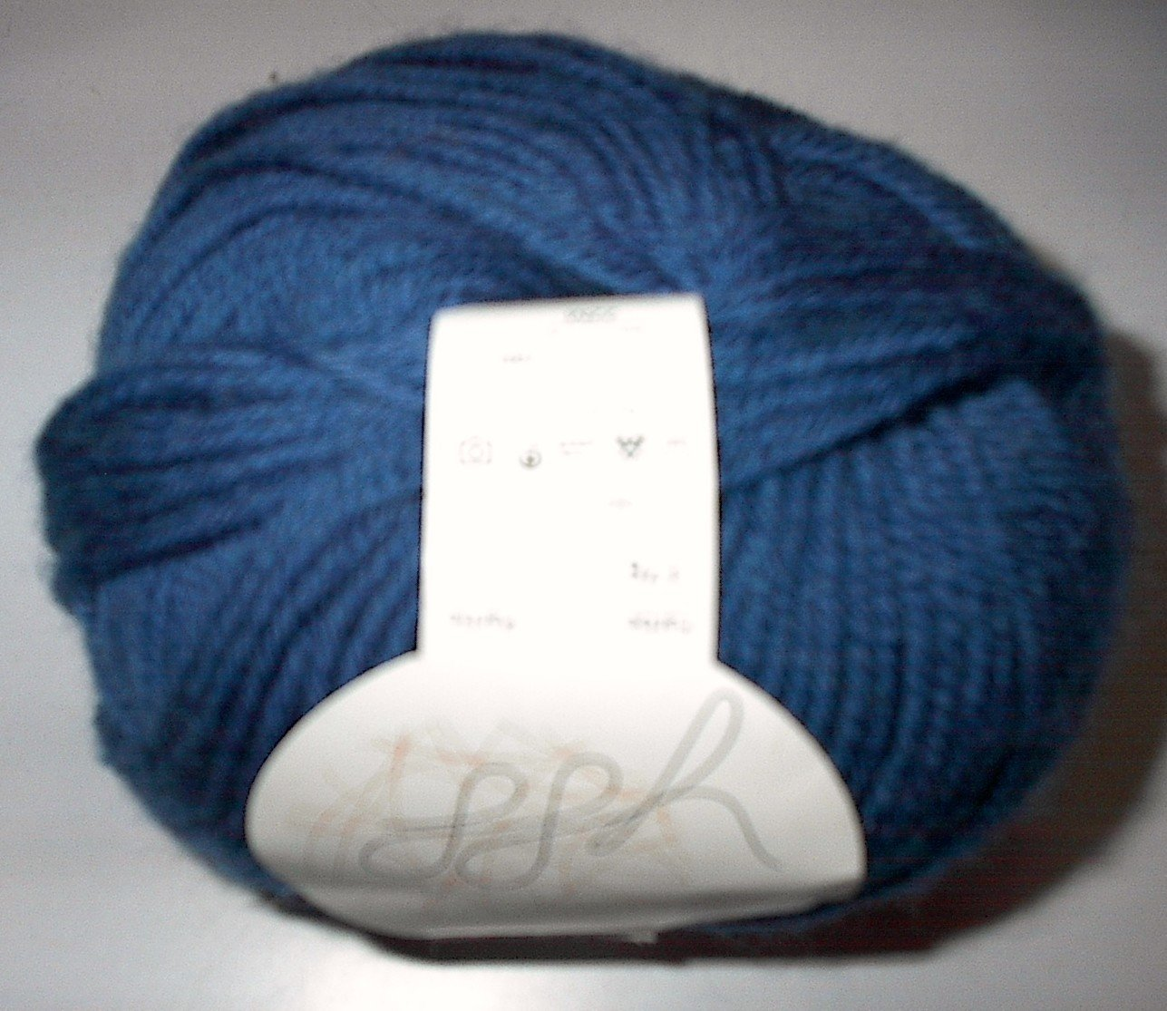GGH Muench Wollywasch Superwash Wool Yarn 176 Blue Loom Knit Crochet